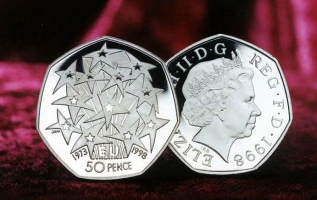 Moneda comemorativă de 50 de penny, menită să marcheze Brexitul la 31 octombrie, a fost topită