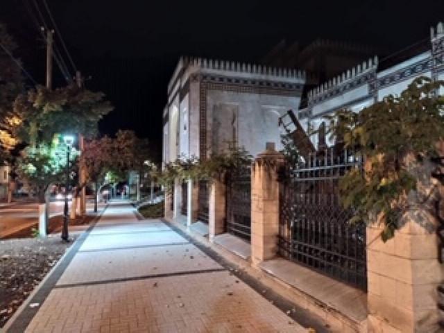 FOTO | Fațada Muzeului Național de Etnografie și Istorie Naturală a fost iluminată decorativ