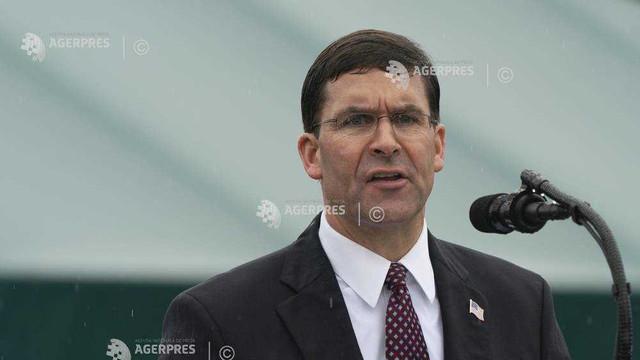 Washingtonul intenționează să-i readucă în SUA pe militarii americani care se retrag din Siria (Esper)