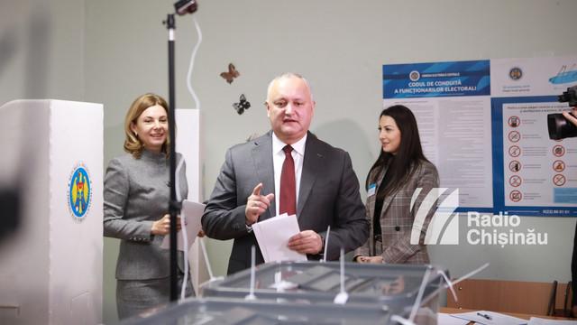 Declarațiile lui Igor Dodon după ce și-a exprimat opțiunea de vot