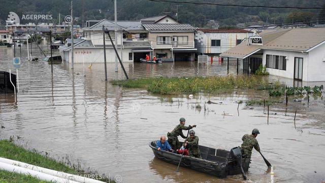 Cel puţin 35 de morţi în Japonia după trecerea taifunului Hagibis; căutarea supravieţuitorilor continuă