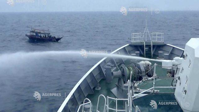 Coliziune între un vas nord-coreean şi o navă de patrulare japoneză în zona economică exclusivă a Japoniei