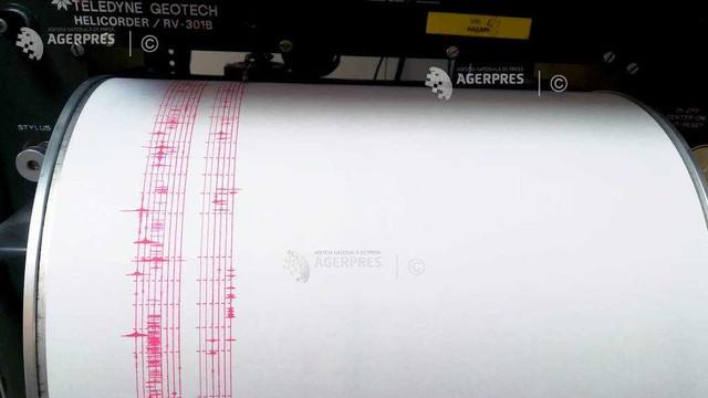 Cutremur cu magnitudinea 3,1 pe scara Richter în județul Vrancea