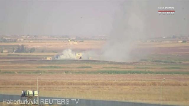 Ofensiva turcă în nordul Siriei: Civilii se refugiază, rebelii susținuți de Ankara anunță lovituri împotriva kurzilor
