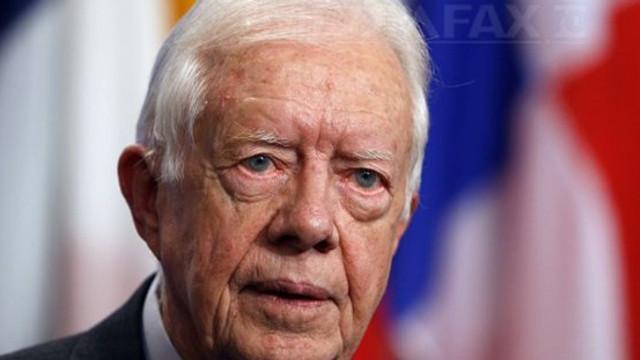 Fostul preşedinte american Jimmy Carter, spitalizat după un nou incident în propria locuinţă
