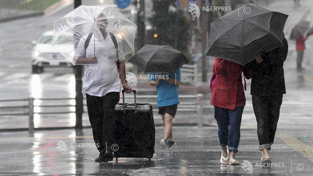 Japonia - Noi ploi torenţiale, prognozate în regiunile devastate de taifunul Hagibis