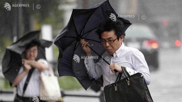 Capitala Japoniei s-ar putea confrunta cu cele mai însemnate precipitaţii din ultimii 60 de ani