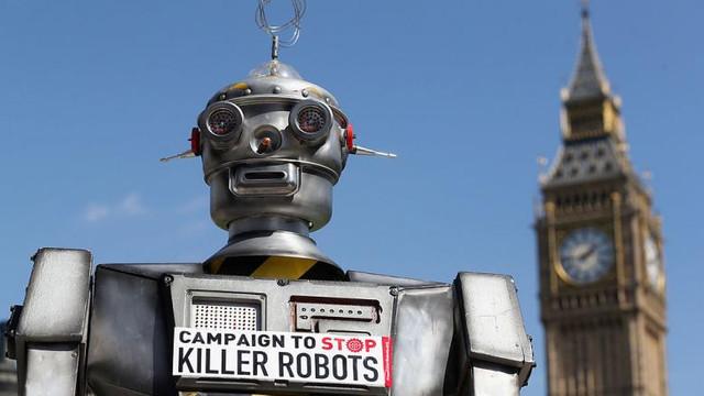 """Activiștii pentru drepturile omului cer ONU să interzică roboții care """"pot ucide oameni"""""""