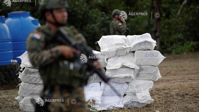 Trei tone de droguri, cu o valoare de piață de circa 750 de milioane de dolari, au fost confiscate în Panama