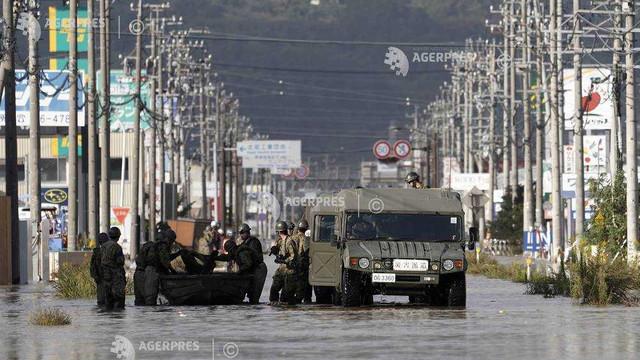 Japonia - Cel puţin 26 de morţi în urma trecerii taifunului Hagibis (presă)