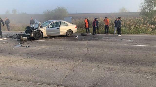 GALERIE FOTO/ VIDEO| Accident cu victime la Strășeni