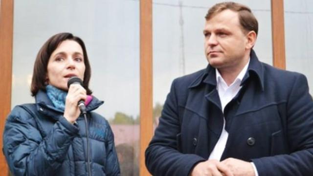 Primele declarații ale Maiei Sandu și Andrei Năstase după închiderea secțiilor de votare