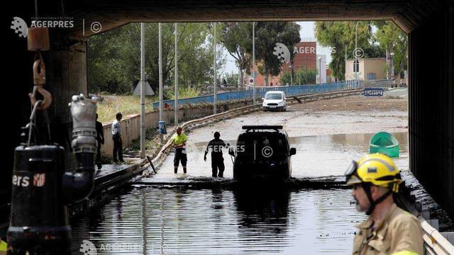Spania - Un mort şi doi dispăruţi în urma inundaţiilor din Catalonia