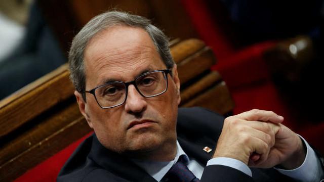 Proteste în Catalonia: Şeful guvernului provincial îndeamnă Madridul să înceapă negocieri fără condiţii cu privire la autodeterminare