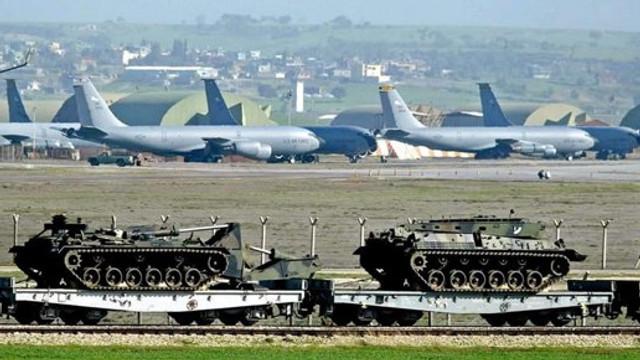 SUA intenționează să mute armamentul nuclear de la baza İncirlik din Turcia, pe fondul ofensivei turce în Siria