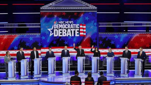 SUA: Trei dezbateri prevăzute pentru prezidenţialele din 2020