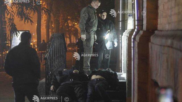 Ucraina: Doi morţi la Kiev în urma exploziei accidentale a unei grenade