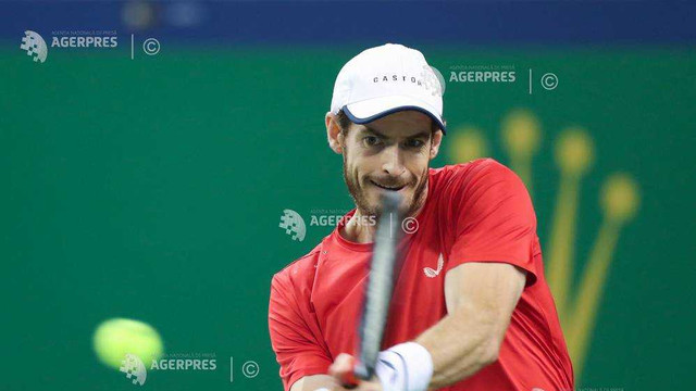 Tenis: Andy Murray, în turul doi la Shanghai (ATP)