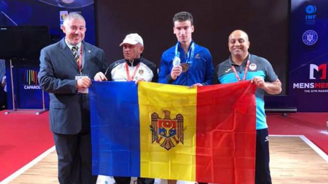 Marin Robu a devenit vicecampion european printre juniori