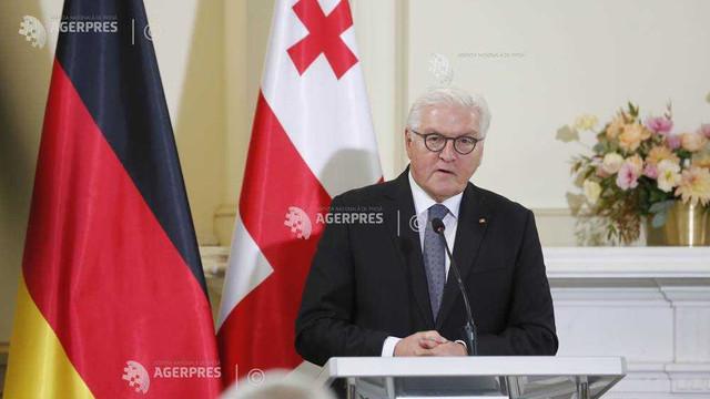Preşedintele Germaniei a temperat aspiraţiile Georgiei la o aderare grabnică la UE şi NATO