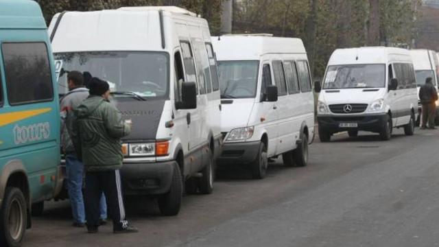 Greva transportatorilor auto | Sute de curse de microbuze din R.Moldova își vor sista astăzi activitatea