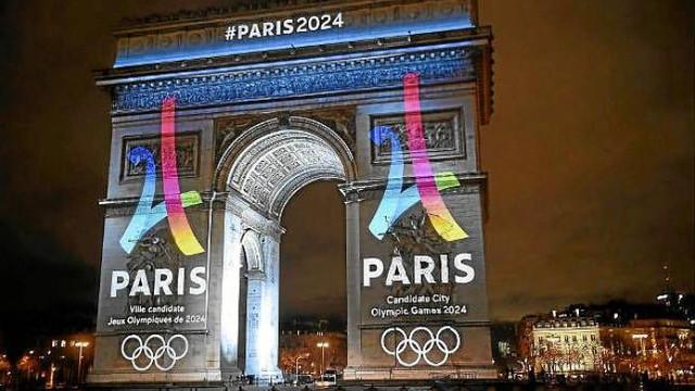 O Marianne aurită, logo-ul Jocurilor Olimpice de la Paris din 2024