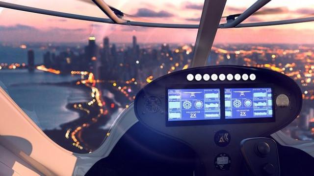 Volocopter - Prototipul primului taxi aerian din lume. Câți pasageri încap în el