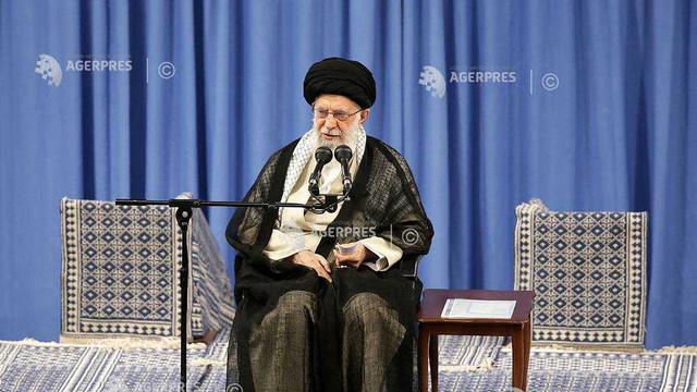 Iran: Bomba atomică reprezintă ''o ameninţare pentru omenire'', insistă ayatollahul Ali Khamenei