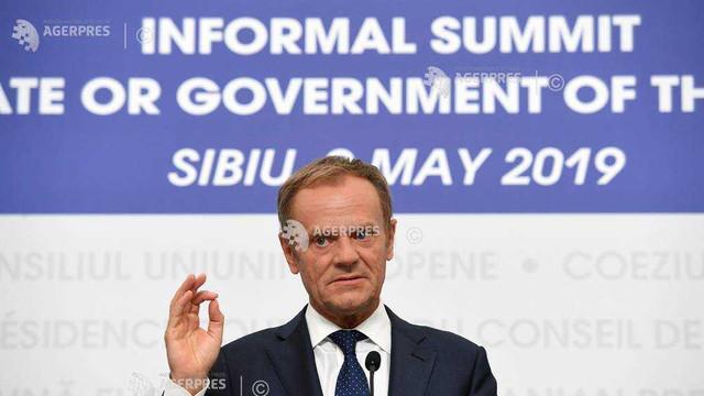 Consiliul European se reuneşte, în zilele de 17-18 octombrie, pe tema Brexitului