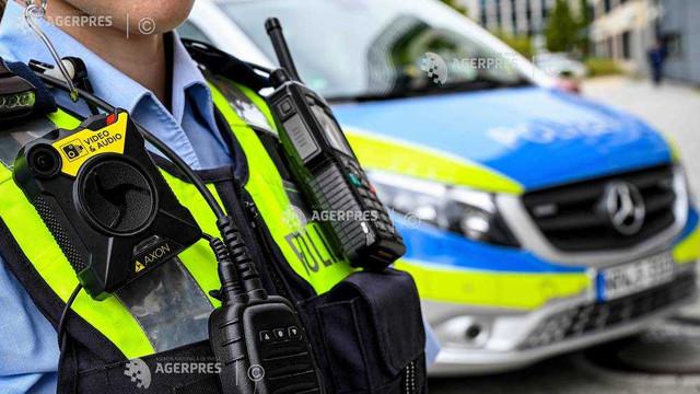 Germania: Un bărbat a lovit mai multe maşini cu un camion furat