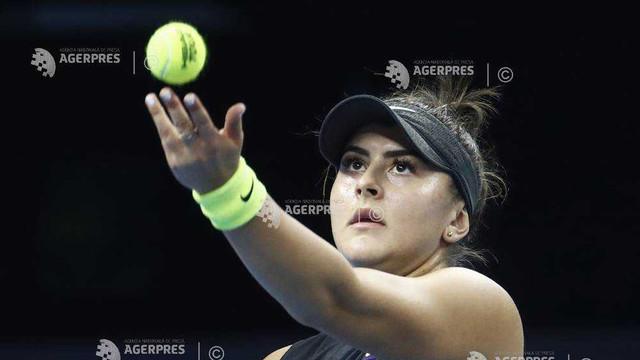 Tenis: Bianca Andreescu, în sferturi la Beijing (WTA)
