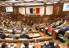 Ședința Parlamentului | Sîrbu, Țîcu, Năstase și Grosu au felicitat România. Socialiștii au părăsit sala
