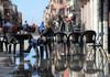 După declararea stării de urgență, Veneţia este din nou ameninţată de un episod de inundaţii
