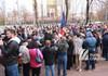 UPDATE | Simpatizanții blocului ACUM continuă să protesteze în fața parlamentului