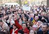 Rezoluție adoptată de manifestanții care au venit în fața Parlamentului pentru a susține Guvernul Sandu:  Facem apel către PLDM, PL, PUN, USB