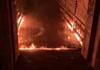 Un incendiu s-ar fi produs în seara aceasta la unul dintre podurile din Parcul Valea Trandafirilor (TV8)