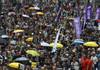 Protestatarii implicaţi în violenţe sunt duşmanii poporului, a declarat liderul Hong Kong-ului