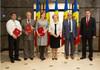 Mai mulți oameni de știință au fost decorați cu Medalia Democrației și diplome ale Parlamentului