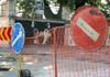 Trafic suspendat pe o stradă din Chișinău