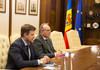 """Zinaida Greceanâi, la întrevedere cu ambasadorul României, Daniel Ioniță: """"Am fost unanimi privind importanța extinderii proiectelor de colaborare"""""""
