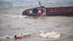 Nava sub pavilion moldovenesc care a eşuat lângă Odesa a fost exclusă din Registrul de Stat al Navelor din R.Moldova