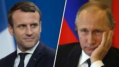 Convorbire telefonică Vladimir Putin - Emmanuel Macron privind situaţia din Ucraina