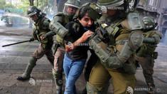 Criză socială în Chile: Preşedintele Pinera condamnă violenţele poliţiei