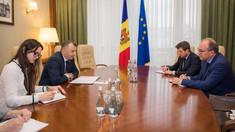 """Ambasadorul Daniel Ioniță, către prim-ministrul Ion Chicu: """"România nu va rămâne indiferentă de soarta Republicii Moldova"""""""