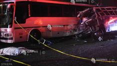 Mexic: 13 morţi într-un accident cu trei autobuze