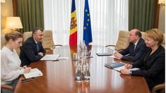 Chicu a avut o întrevedere cu Vasnețov: Este important să restabilim parteneriatul cu Federația Rusă