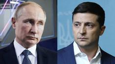 Ministerul de Externe al Ucrainei a comentat posibilitatea unei întâlniri dintre Zelenski şi Putin