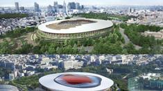 Stadionul din Tokyo, construit special pentru Jocurile Olimpice din 2020, a fost finalizat mai devreme cu o lună