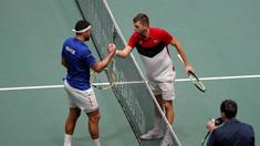 Tenis: Franţa, eliminată din Cupa Davis