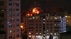 FOTO/VIDEO | Bombardamente în Israel: Grupurile palestiniene au lansat sute de rachete din Fâşia Gaza